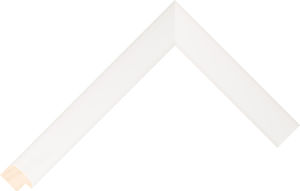 430639200 White LJE Moulding Chevron