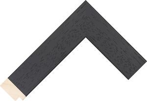 439000167 Black LJC Coastal Woods Moulding Chevron