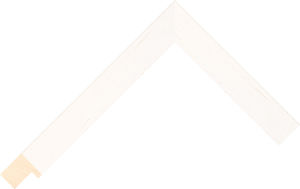 453000137 Ivory Coastal Woods Moulding Chevron