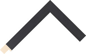 453000167 Black Coastal Woods Moulding Chevron