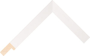 466000127 White Coastal Woods Moulding Chevron