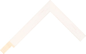 466000137 Ivory Coastal Woods Moulding Chevron