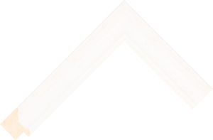 471000127 White LJC Lincoln Moulding Chevron