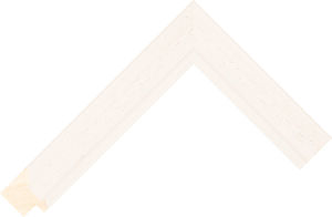 471000137 Ivory LJC Lincoln Moulding Chevron
