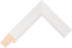 482000127 White LJC Coastal Woods Moulding Chevron