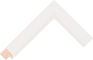522127000 White LJE Moulding Chevron