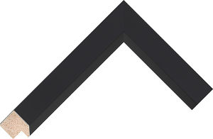 522167000 Black Essentials Moulding Chevron