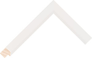 523127000 White LJE Moulding Chevron