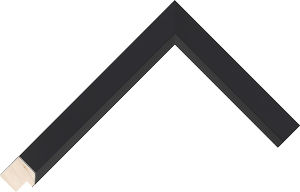 523167000 Black Essentials Moulding Chevron