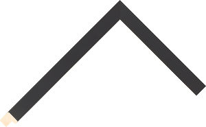 526015167 Black Essentials Moulding Chevron