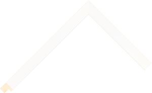 526020127 White Essentials Moulding Chevron