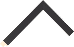526020167 Black Essentials Moulding Chevron