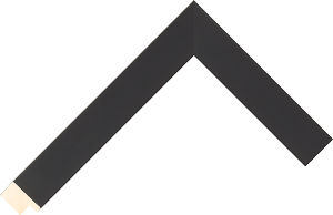526025167 Black Essentials Moulding Chevron
