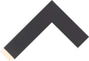 526040167 Black Essentials Moulding Chevron