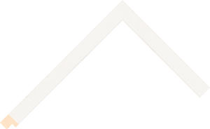 526127015 White LJC Coastal Woods Moulding Chevron