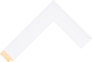 526127035 White LJC Coastal Woods Moulding Chevron