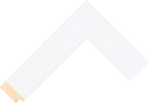 526127040 White LJC Coastal Woods Moulding Chevron