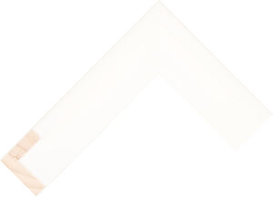 619127000 White LJE Float Moulding Chevron