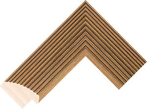 659247000 Gold LJE Moulding Chevron