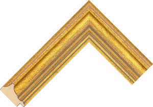 781220000 Gold LJE Moulding Chevron