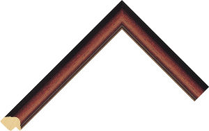 887073000 Stain Moulding Chevron