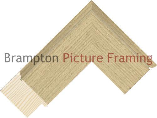 3m pack of 60mm wide Wood Veneer Pine Oak Picture Frame Moulding | eBay