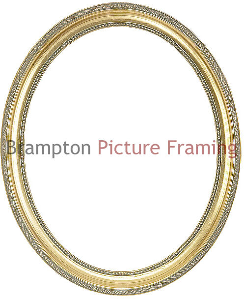 Oval/Circle Traditional Vintage, Shabby Chic, Ornate Picture Frame 3 ...