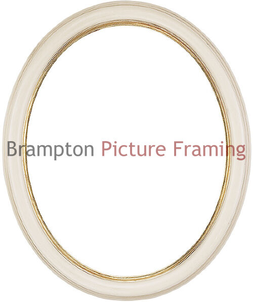Ovalcircle Traditional Vintage Shabby Chic Ornate Picture Frame