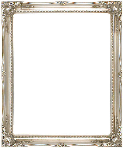 Ready Made Frames : Silver swept picture frame ref buy photo online