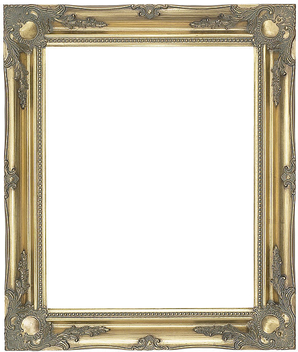 Ready Made Frames : Gold swept picture frame ref buy photo online
