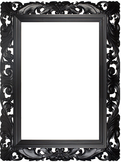 Black Decorative Picture Frame Ref 862167, Buy Photo Frame ...